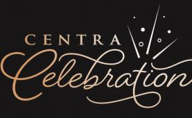 Centra Celebration event logo