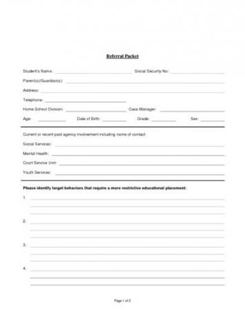 Centra Rivermont School Application and Referral Packet