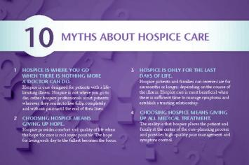 10 Myths of Hospice