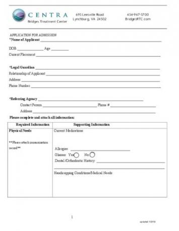 Bridges RTC Application (2 pages)